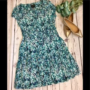 NWT Connected Apparel Fit and Flare Dress Size 12